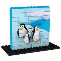 PUZZLE PENGUINS 34 ks