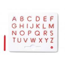 Magnetická tabuľka - písmena