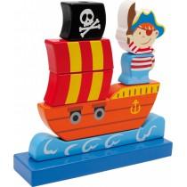 Skladačka - Pirátska loď