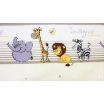 Detská obliečka - Safari sivá