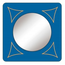 Zrkadlo Štvorec