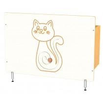 Kryt na radiátor - Mačička