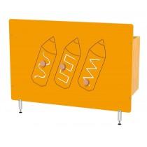 Kryt na radiátor - Farbičky