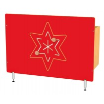 Kryt na radiátor - Hviezda
