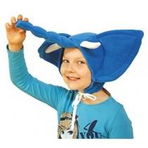 Kostýmová čiapka Sloník
