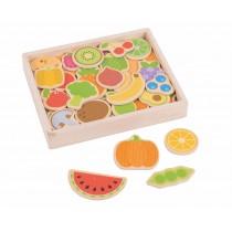 Magnetky Ovocie a zelenina