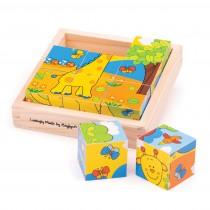 Obrázkové kocky - Safari