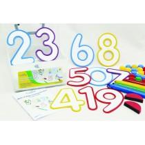 Napíš a vymaž - Čísla