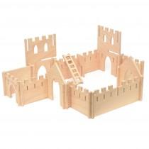Drevená stavebnica - pevnosť