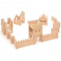 Drevená stavebnica - hrad