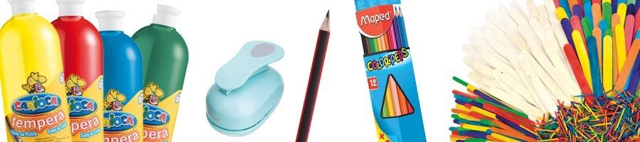 Farby, štetce a pomôcky
